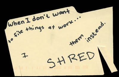 postsecret shred